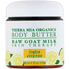 Tierra Mia Organics, Body Butter, Raw Goat Milk, Skin Therapy, Lemon Verbena, 4 fl oz (113 g)