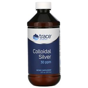 Трасе Минералс Ресерч, Colloidal Silver, 30 ppm, 8 fl oz (237 ml) отзывы