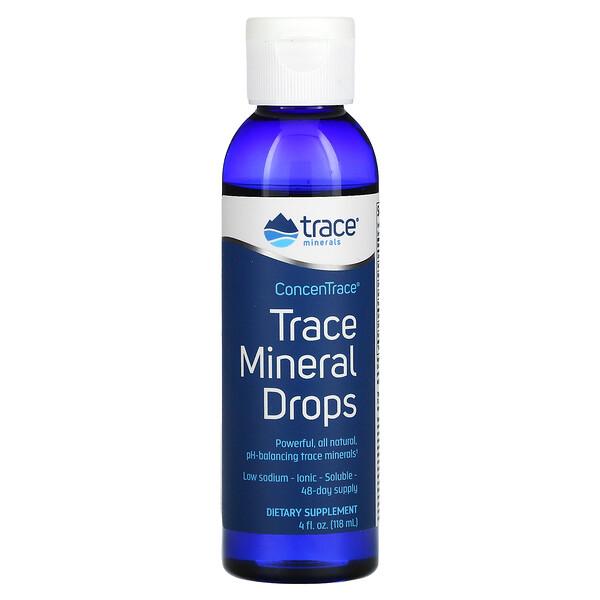 ConcenTrace, Trace Mineral Drops, 4 fl oz (118 ml)