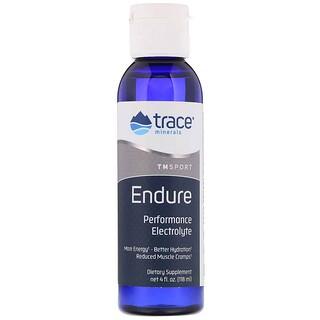 Trace Minerals Research, Endure، إلكتروليتات الأداء، 4 أونصة سائلة (118 مل)
