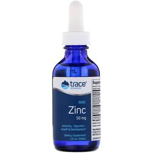 Трасе Минералс Ресерч, Ionic Zinc, 50 mg, 2 fl oz (59 ml) отзывы покупателей
