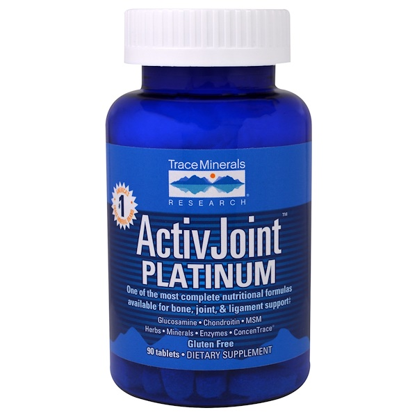 Trace Minerals Research, ActivJoint Platinum, 90 Tablets (Discontinued Item)