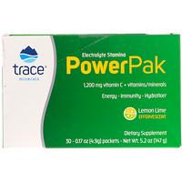 Electrolyte Stamina, Power Pak, вкус лимон-лайм, 30 пакетиков по 4.9 г каждый - фото