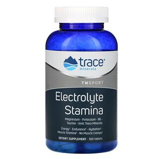 Trace Minerals Research, Électrolyte d'endurance, 300 comprimés