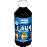 Детский мультивитамин, цитрусовый пунш, 8 жидк. унц. (237 мл) - фото