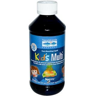 Trace Minerals Research, 子ども用マルチ、シトラスパンチ、8 fl oz (237 ml)