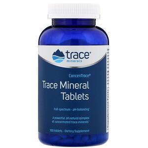 Трасе Минералс Ресерч, ConcenTrace, Trace Mineral Tablets, 300 Tablets отзывы