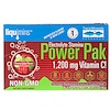 Trace Minerals Research, Electrolyte Stamina, Power Pak, Cherry Lime, 1200 mg, 30 Packets, 0.18 oz (5.2 g) Each