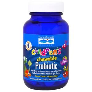 Трасе Минералс Ресерч, Children's Chewable Probiotic, Concord Grape, 30 Chewables отзывы