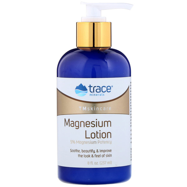 Trace Minerals Research, Tmskincare, Magnesium Lotion, 8 fl oz (237 ml)