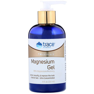 Trace Minerals Research, TMskincare, Magnesium Gel, 8 fl oz (237 ml)