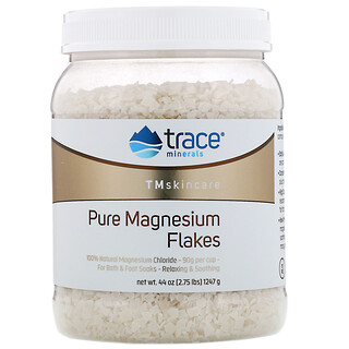 Trace Minerals Research, TM Skincare, Pure Magnesium Flakes, 2.75 lbs (1247 g)