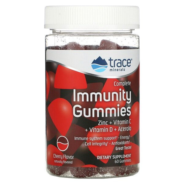 Complete Immunity Gummies, Cherry, 60 Gummies