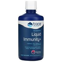 Trace Minerals Research, Fast-Absorbing Liquid Immunity+, Mixed Berry, 30 fl oz (887 ml)