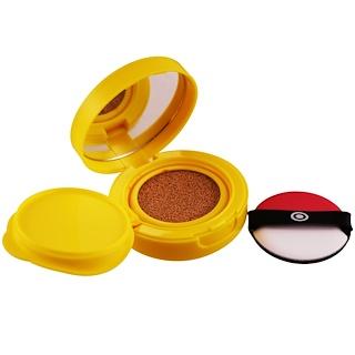 Tony Moly, Pokemon, Mini Cover Cushion SPF 50+, Warm Beige, 9 g