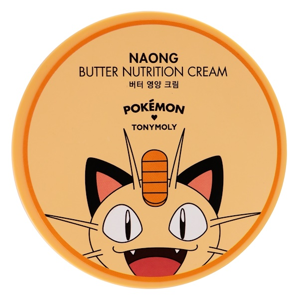 Tony Moly, Pokemon, Butter Nutrition Cream, Naong, 300 ml (Discontinued Item)