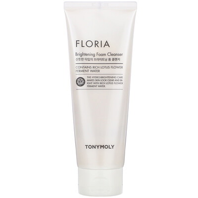 Купить Tony Moly Floria Brightening Foam Cleanser, 150 ml
