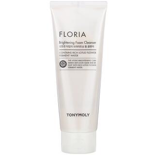 Tony Moly, Floria Brightening Foam Cleanser,  150 ml