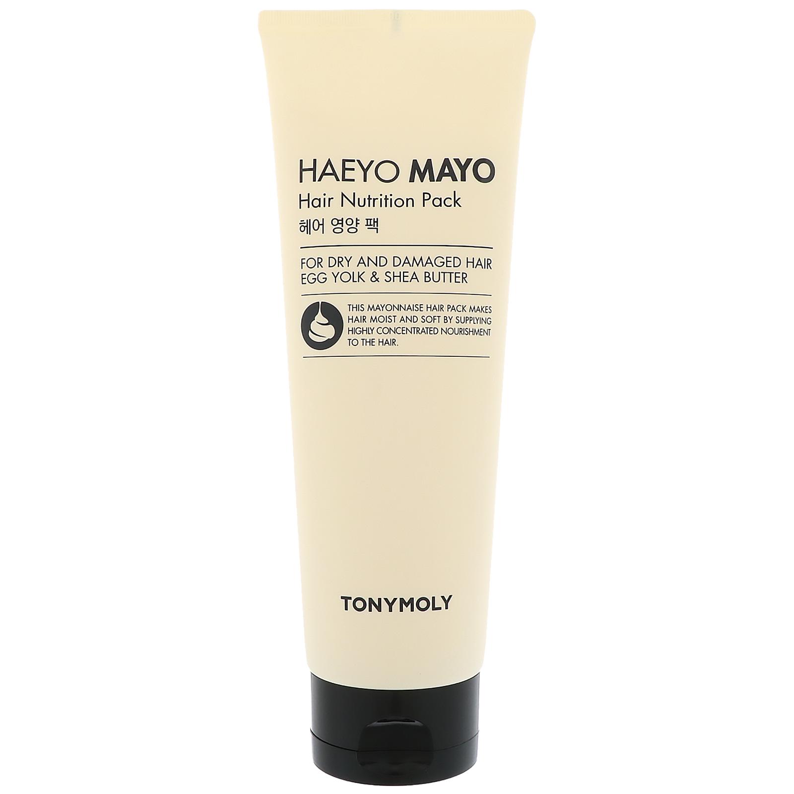Tony Moly, Питательная маска для волос Haeyo Mayo Hair Nutrition Pack, 250мл