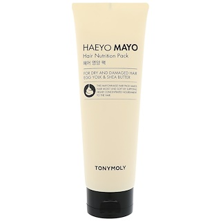 Tony Moly, Pack de nutrition pour cheveux Haeyo Mayo, 250 ml