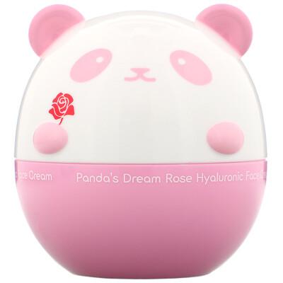 Купить Tony Moly Panda's Dream, Rose Hyaluronic Face Cream, 1.76 oz (50 g)