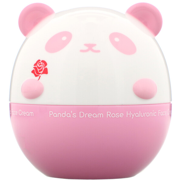Panda's Dream, Rose Hyaluronic Face Cream, 1.76 oz (50 g)