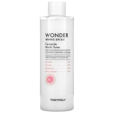 Купить Tony Moly Wonder, Ceramide Mochi Toner, 500 ml