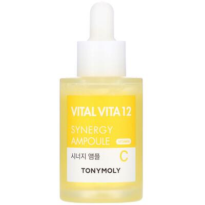 Купить Tony Moly Vital Vita 12, Vitamin C Synergy Ampoule, 1.01 fl oz (30 ml)