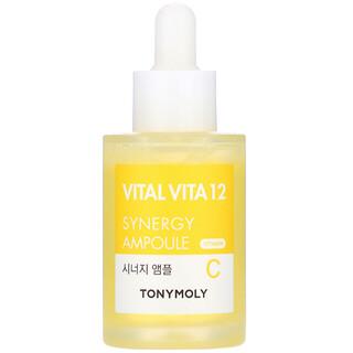 Tony Moly, Vital Vita 12, Vitamin C Synergy Ampoule, 1.01 fl oz (30 ml)