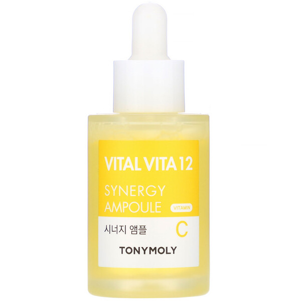 Tony Moly, Vital Vita 12, Vitamin C Synergy Ampoule, 1.01 fl oz (30 ml)
