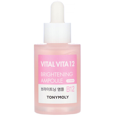 Купить Tony Moly Vital Vita 12, Vitamin B12 Brightening Ampoule, 1.01 fl oz (30 ml)