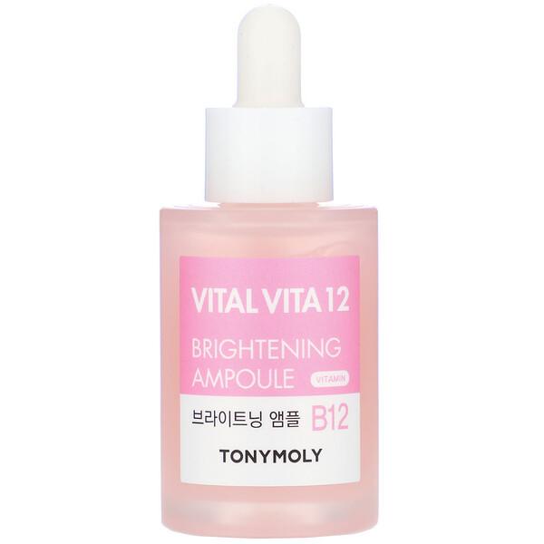 Tony Moly, Vital Vita 12, Vitamin B12 Brightening Ampoule, 1.01 fl oz (30 ml)