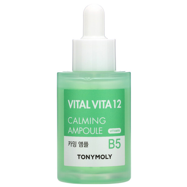 Tony Moly, Vital Vita 12, Vitamin B5 Calming Ampoule, 1.01 fl oz (30 ml)