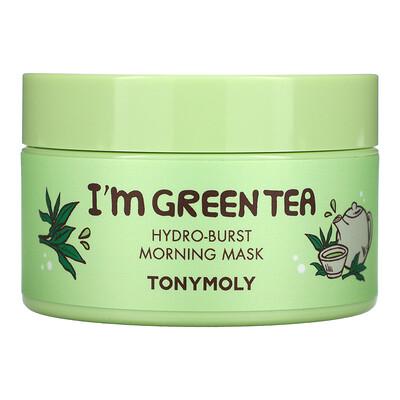 Купить Tony Moly I'm Green Tea, Hydro-Burst Morning Beauty Mask, 3.52 oz (100 g)