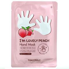 Tony Moly, I'm Lovely Peach,手膜,1 雙,0.56 盎司(16 克)