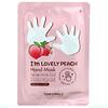 Tony Moly, I'm Lovely Peach, Hand Mask, 1 Pair, 0.56 oz (16 g)