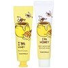 Tony Moly, I'm Honey, Mask & Hand Cream Set, 4 Piece Set
