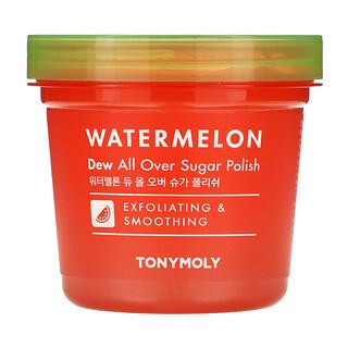 Tony Moly, Watermelon, Dew All Over Sugar Polish, 10.14 fl oz (300 ml)