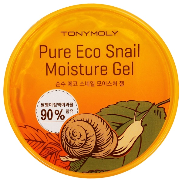 Tony Moly, Pure Eco Snail Moisture Gel, 300 ml (Discontinued Item)