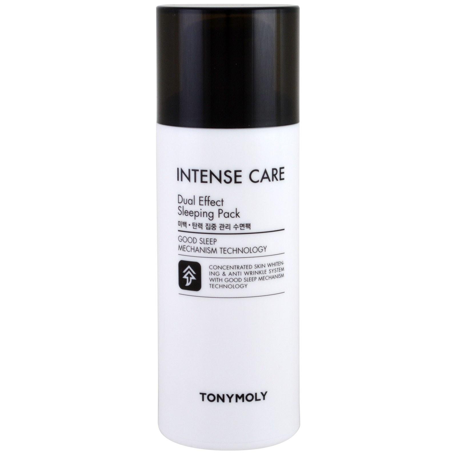 Tony Moly, Активный уход, упаковка для сна с двойным эффектом, 100 мл (3,52 жидких унции)