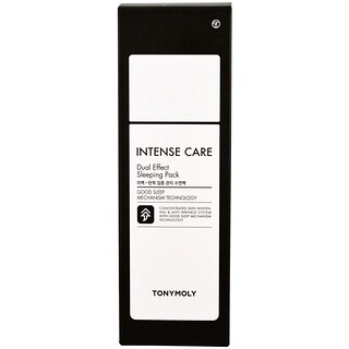 Tony Moly, Intense Care, Dual Effect Sleeping Pack, 3.52 fl oz (100 ml)