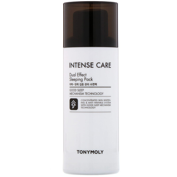 Tony Moly, Intense Care, Dual Effect Sleeping Pack, 3.52 fl oz (100 ml) (Discontinued Item)