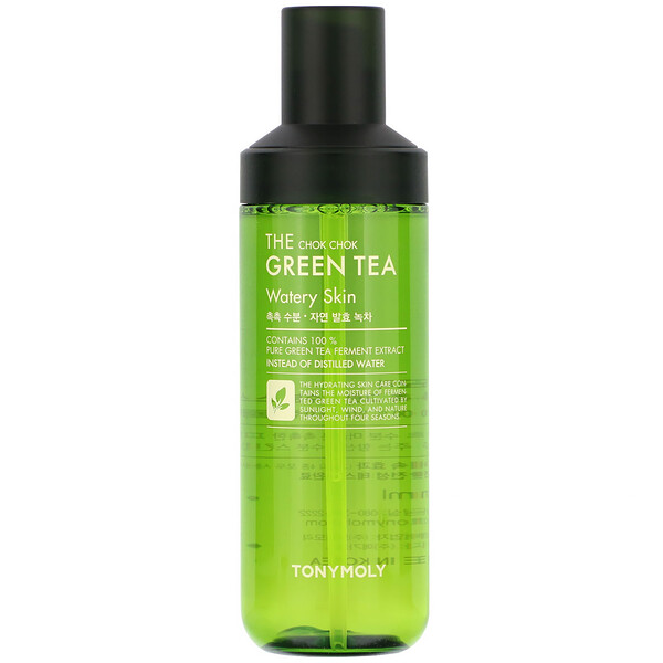 Tony Moly, The Chok Chok Green Tea, Watery Skin, 180 ml (Discontinued Item)