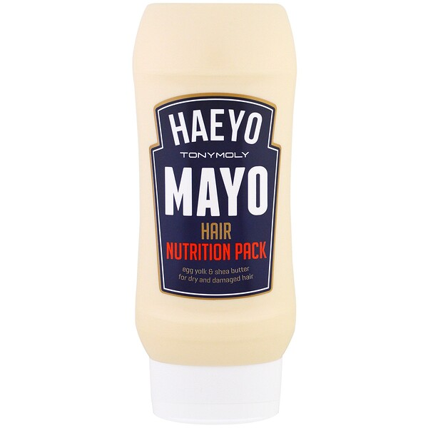 Tony Moly, Haeyo Mayo Hair Nutrition Pack, 250 ml