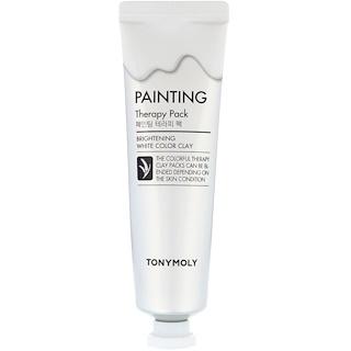 Tony Moly, Paquete de terapia pictórica, aclarante, arcilla blanca, 30 g