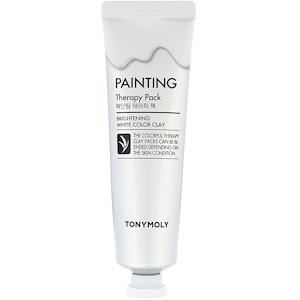 Тони Моли, Painting Therapy Pack, Brightening, White Color Clay, 30 g отзывы