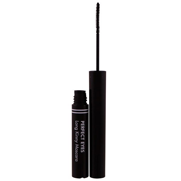 Tony Moly, Ojos perfectos, máscara larga Kinny, negro profundo, 3.5 g (Discontinued Item)