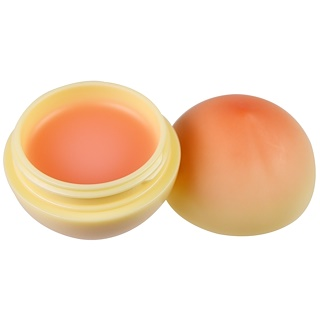 Tony Moly, Mini Peach Lip Balm, 1 Lip Balm