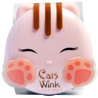 Tony Moly, Cat's Wink, Clear Pact, #2 Clear Beige, 0.38 oz