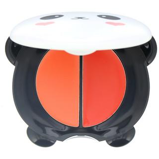 Tony Moly, Panda's Dream, Dual Lip & Cheek, Bubble Red, 1.7 x 2